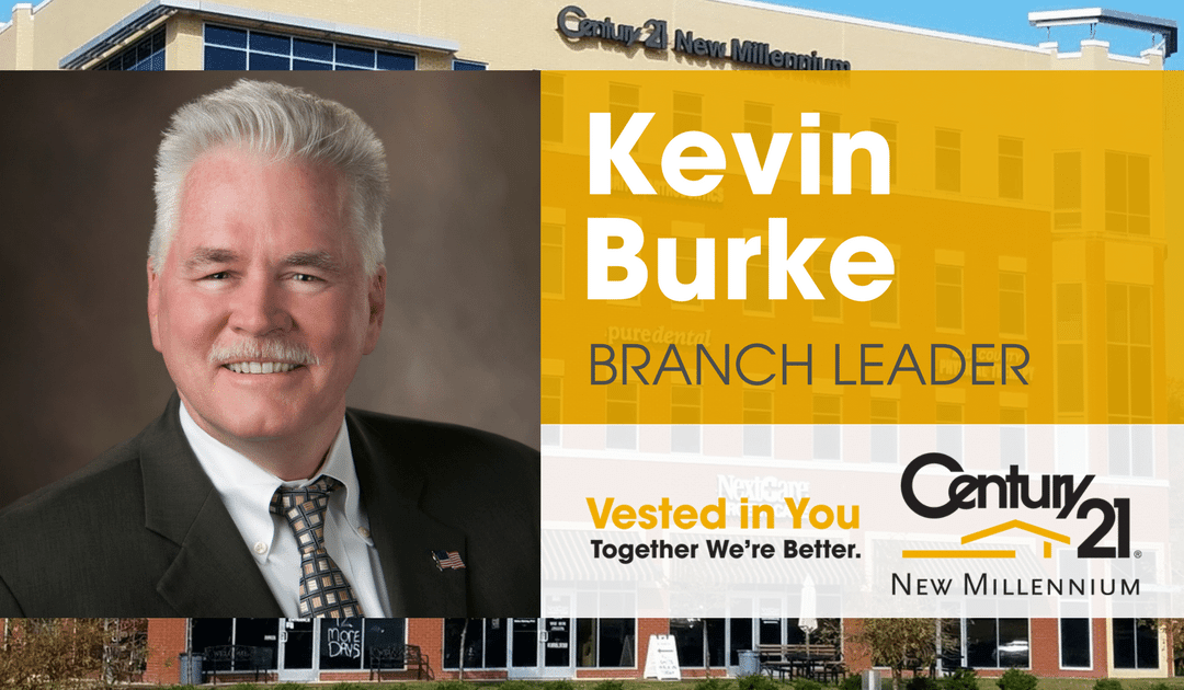 Kevin Burke Joins CENTURY 21 New Millennium as Woodbridge Branch Leader