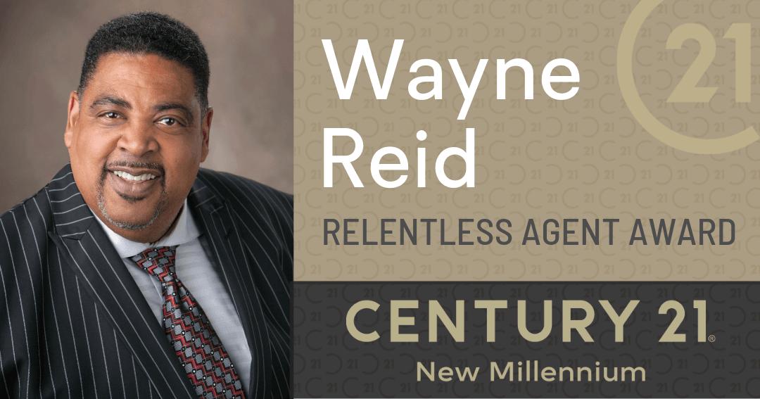 "Century 21 Real Estate Honors C21NM Columbia's Wayne Reid with the ""Relentless Agent Award"""