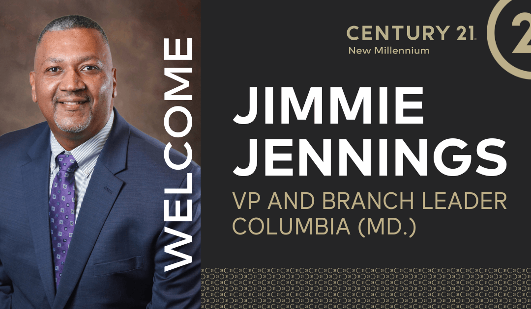 New Millennium Welcomes Jimmie Jennings as Columbia (Md.) Branch Leader